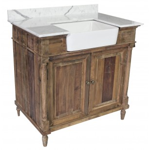Reclaimed Pine Farmhouse Vanity