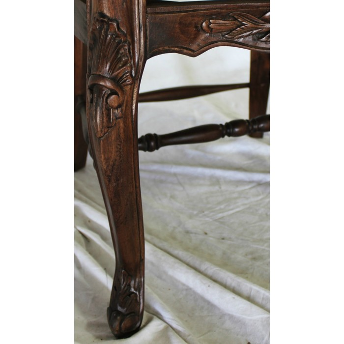Country french dining table cf 84 black brown or white for French country furniture catalog
