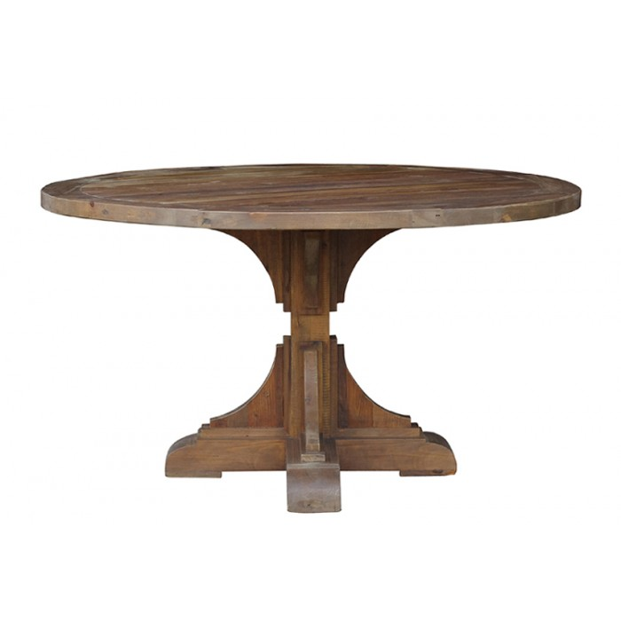 dining table jj1437 - Round Pine Kitchen Table