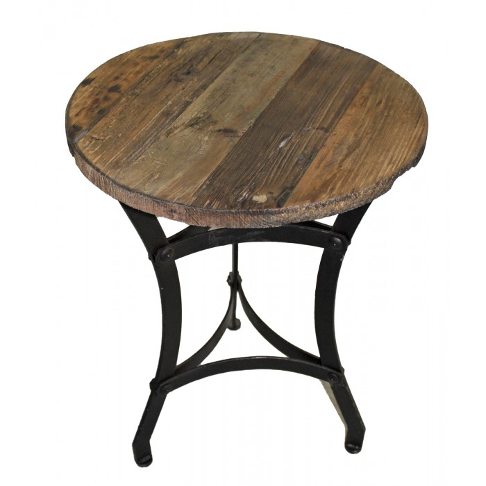 Th 416 round side table for Th 37px60b table top stand