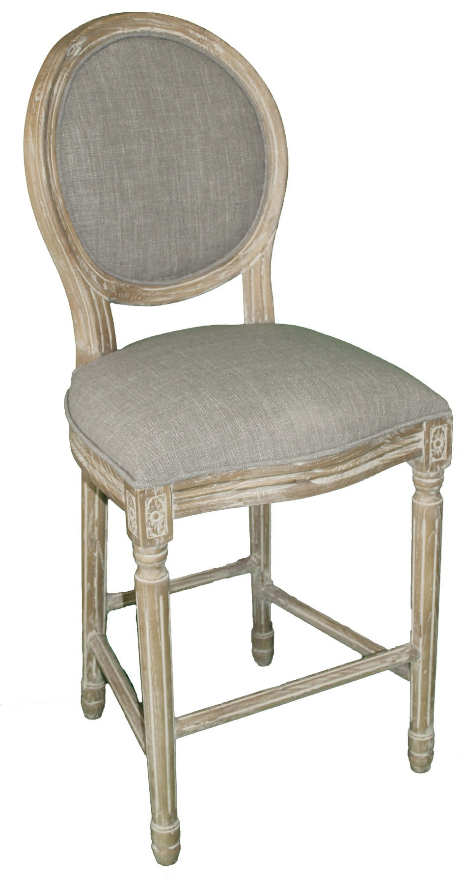 Il007 Round Back Counter Chair