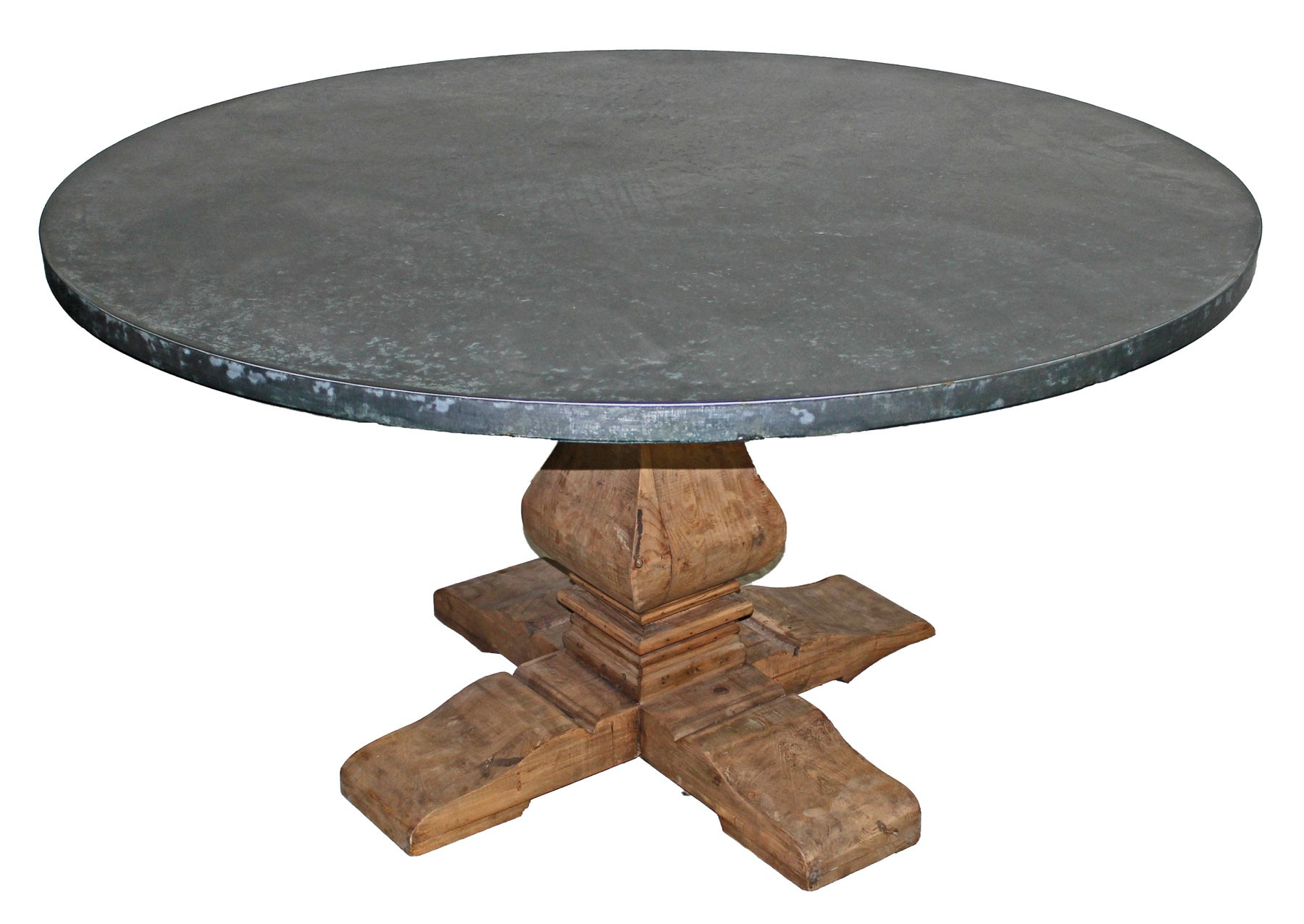 NL 19Z Zinc top dining table