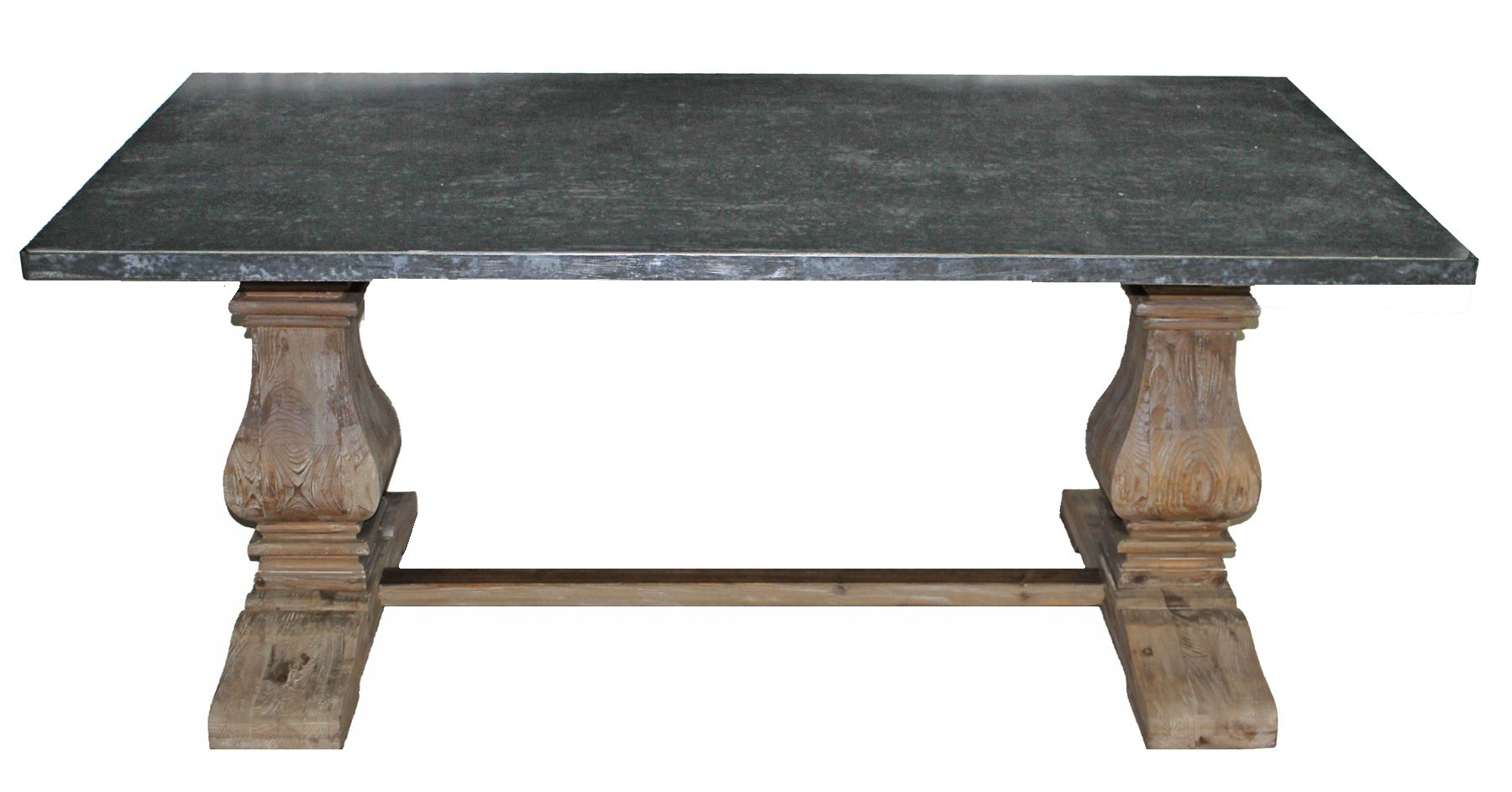 Nl 99 1 zinc top dining table for 99 dining table