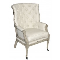 Presleigh Open Back Tufted Chair