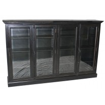 Large 4-Door Bookcase
