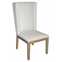 Square Back Wing Side Chair