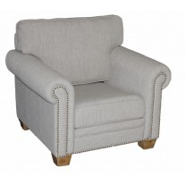 Linen Large Arm Chair