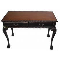 2-Drawer Desk-Black