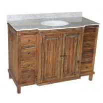 Reclaimed Pine 8-Drawer Vanity