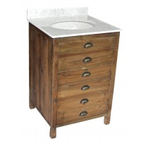 Reclaimed Pine 1-Door Vanity