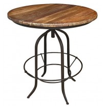 Round Adjustable Counter/Bar Table