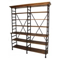 Iron Rack Bookcase