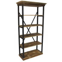 Industrial X-Back Iron Shelf
