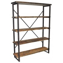 Pine Open Shelf Rack