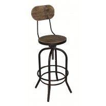 Swivel Barstool w/ Back