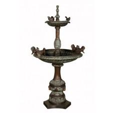 Seven bird fountain