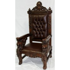 Brown/Brown Sphynx Chair