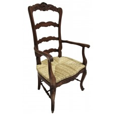 Tall Back Arm Chair