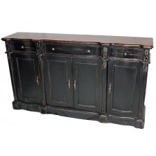 3-Drawer 4-Door Sideboard