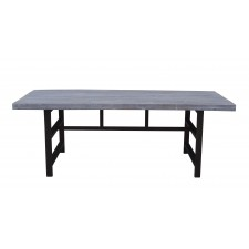 jj-1724 Grey Wash dining table