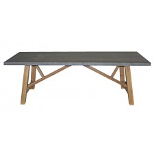 K181002 Zinc top dining table