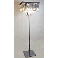 3185-FLR Crystal Square Floor Lamp
