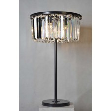 3033-TBL Crystal Round Table Lamp