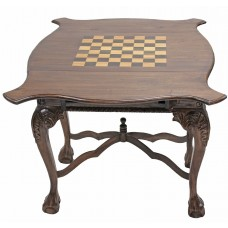 Chippendale Game Table