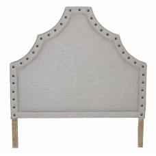 IB020-2 Queen Headboard Grey linen