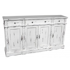 IN-35-WHT 4-Door Sideboard