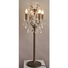 2081-TBL Ornate Crystal Table Lamp