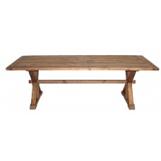 NL-186P Pine top dining table