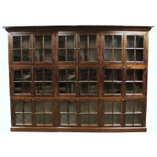 Oak 18 Door Bookcase