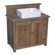 TH-09 Rustic Reclaimed 2-Door Vanity