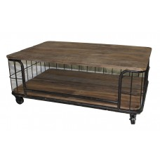 Cage Iron Coffee Table