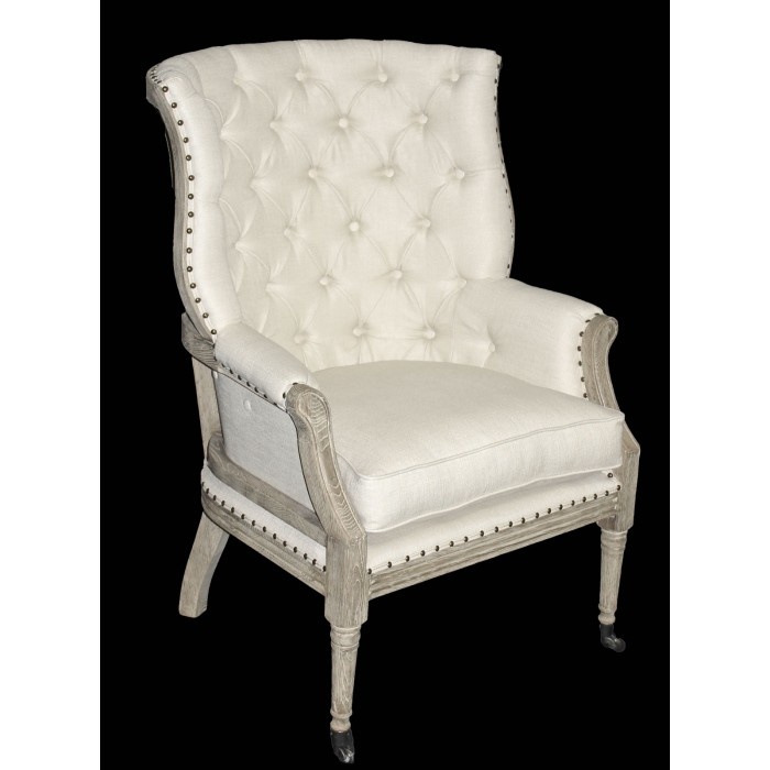 presleigh open back chair