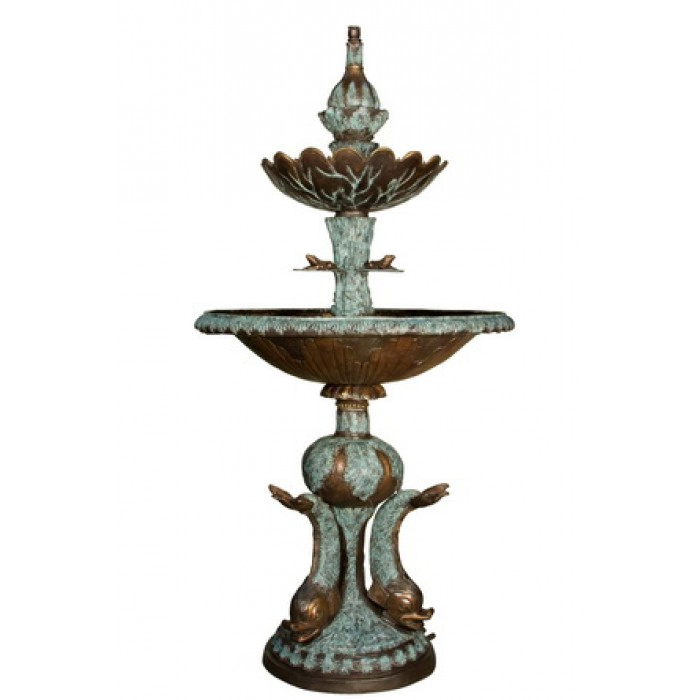 Three fish fountain