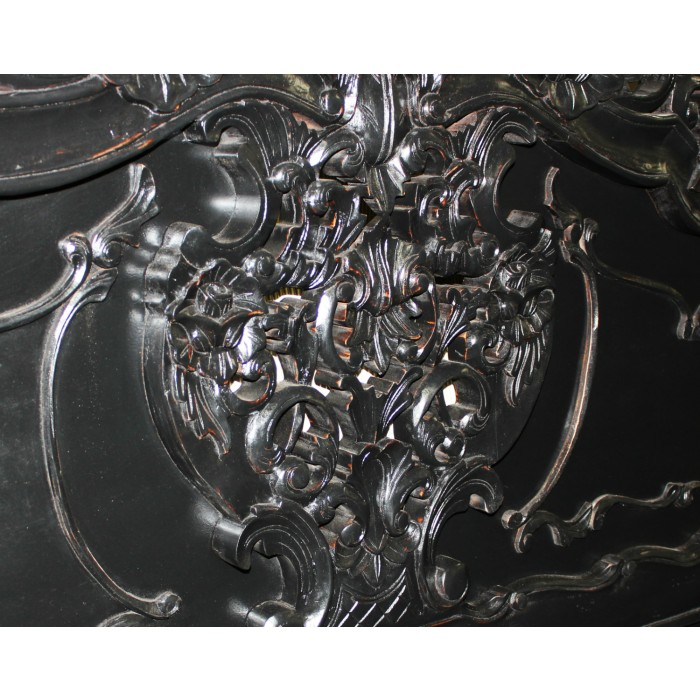 Rococo Carved Bed 61H