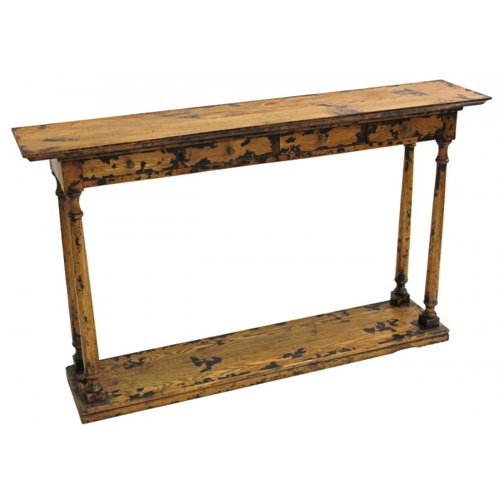 4-Drawer Console