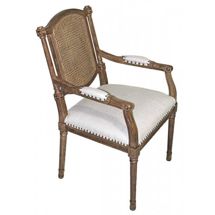 IC034 Cane Back Arm Chair