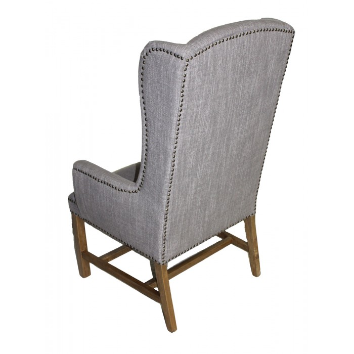 ic-170 Smoke Grey Wing Chair Back