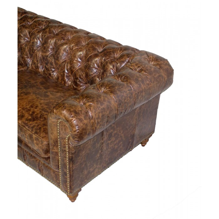 Tufted Leather Sofa Is215 3 Leather