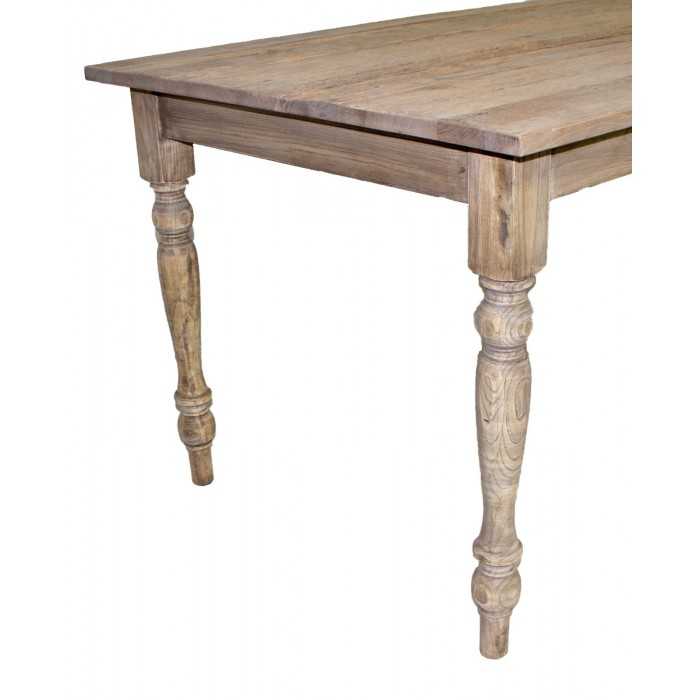 JJ-1562 Turned Leg Dining Table