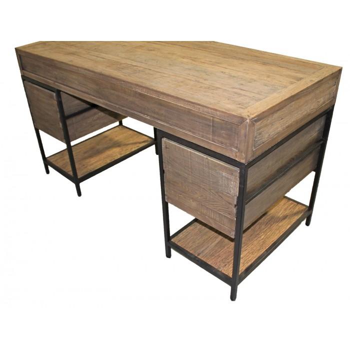 JJ-1708 Reclaimed Oak desk