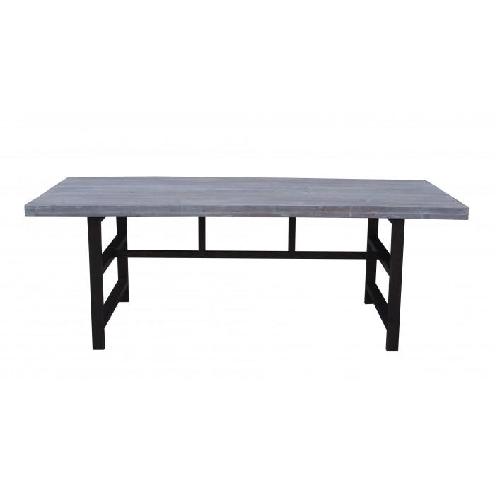 jj-1724 Grey Wash dining table