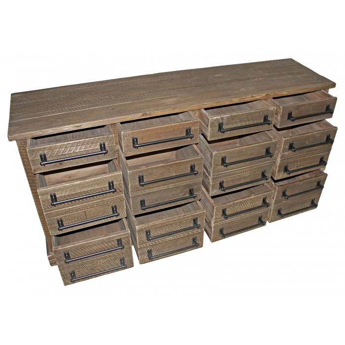 JJ-1753 12-Drawer Buffet