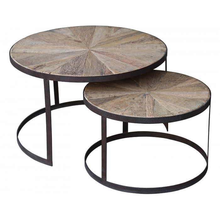 JJ1793 Round Coffee table set