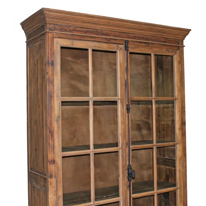 NL-126 pine bookcase