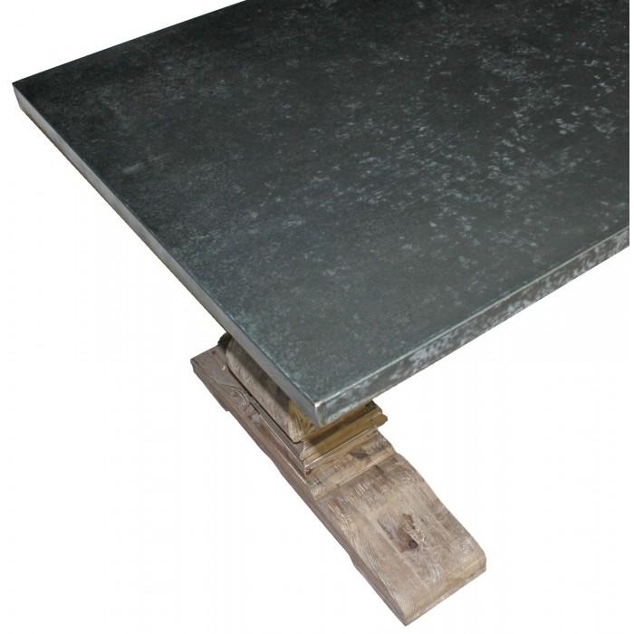 NL-99-1 Zinc Top Trestle Table