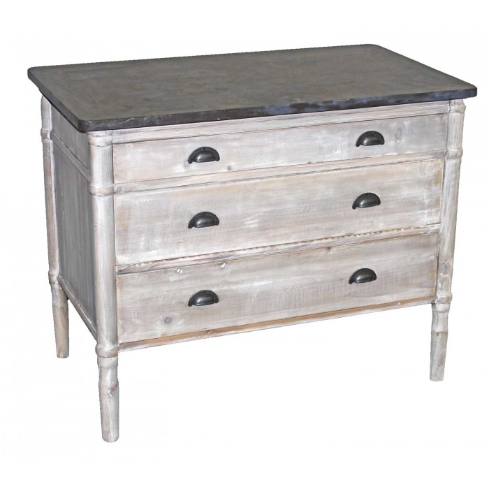 Bluestone 3-Drawer Chest